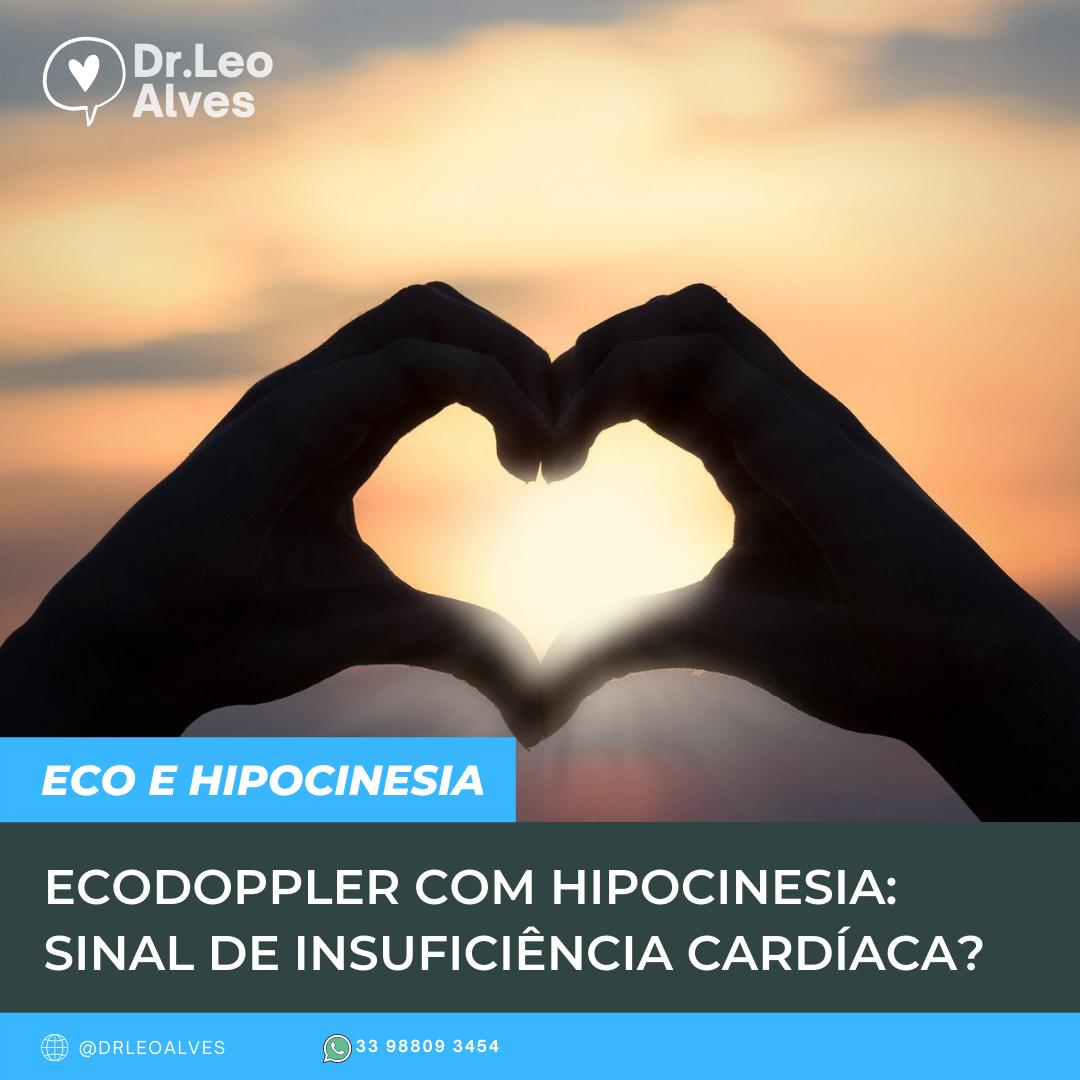 Hipocinesia difusa no Ecocardiograma
